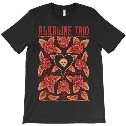 New Alkaline Trio American Punk Rock Band Logo4 T-shirt Designed By Pujangga45