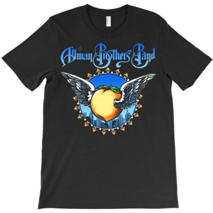 New Allman Brothers Band Eat A Peach Rare Graphic T-shirt Designed By Pujangga45
