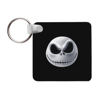 Pumpkin Head T-shirt Frp Square Keychain Designed By Coşkun