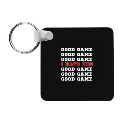 Good Game Frp Square Keychain Designed By Yad1_