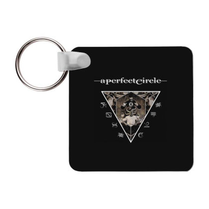 A Perfect Circle American Rock Band1 Frp Square Keychain Designed By Pujangga45