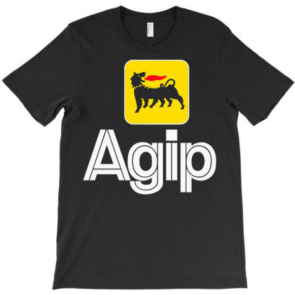 Agip Racing Oil Famous Company T-shirt Designed By Pujangga45