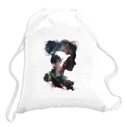 Bird Women Drawstring Bags Designed By Coşkun