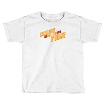 Boogie 'til You Puke Toddler T-shirt Designed By Monstore
