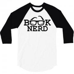 book nerd 3/4 Sleeve Shirt | Artistshot