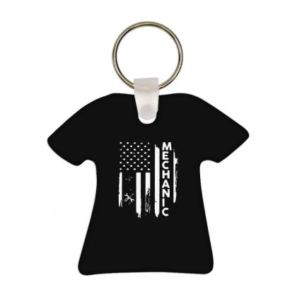 Flag Vintage T-shirt Keychain Designed By Delicous