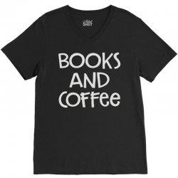 books and coffee V-Neck Tee   Artistshot