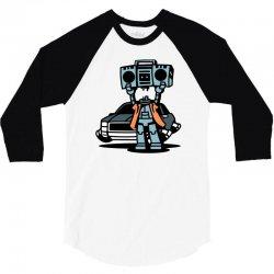 boombot serenade 3/4 Sleeve Shirt | Artistshot