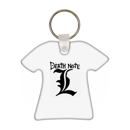 Death Note Manga T-shirt Keychain Designed By Vonicor