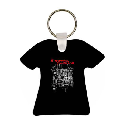 Strapping Young Band T-shirt Keychain Designed By Vonicor