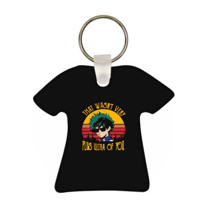 New My Hero Academia All Might Plus Ultra Anime Midoriya T-shirt Keychain Designed By Pujangga45