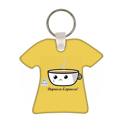 Coffee T-shirt Keychain Designed By Fuadin Asrohim