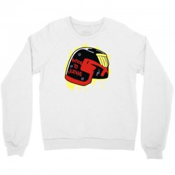 born to judge Crewneck Sweatshirt | Artistshot
