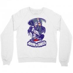 born to shred Crewneck Sweatshirt | Artistshot