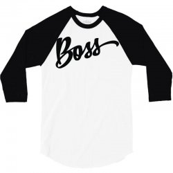 boss 3/4 Sleeve Shirt | Artistshot
