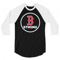 boston strong 3/4 Sleeve Shirt | Artistshot