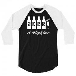 bottles 1965   mens funny 3/4 Sleeve Shirt | Artistshot