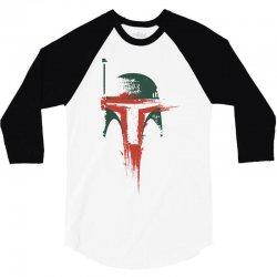 bounty hunter slave sci wars star fi 3/4 Sleeve Shirt | Artistshot