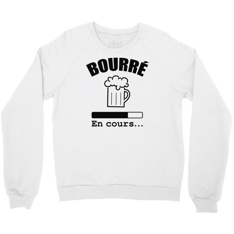 Bourré En Cours Crewneck Sweatshirt | Artistshot