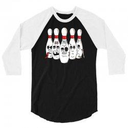 bowling pin abuse 3/4 Sleeve Shirt | Artistshot