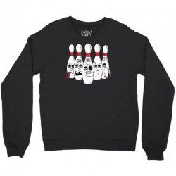 bowling pin abuse Crewneck Sweatshirt | Artistshot