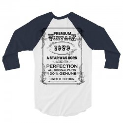 premium vintage 1979 3/4 Sleeve Shirt | Artistshot