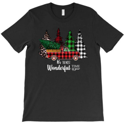 It's The Most Wonderful Time Of Year T-shirt Designed By Sengul