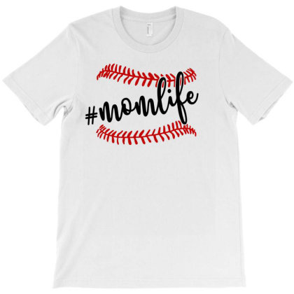 Momlife Baseball  For Light T-shirt Designed By Sengul