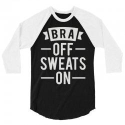 bra off sweats on 3/4 Sleeve Shirt   Artistshot