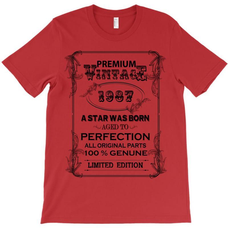 Premium Vintage 1987 T-shirt   Artistshot