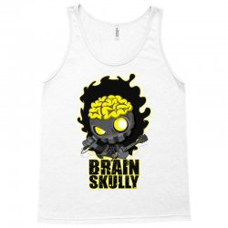 brain skully Tank Top   Artistshot