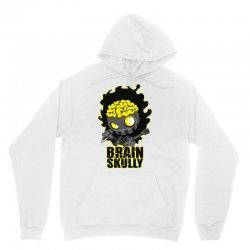 brain skully Unisex Hoodie   Artistshot