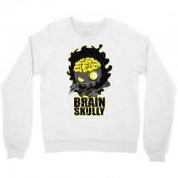 brain skully Crewneck Sweatshirt   Artistshot