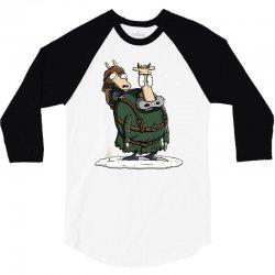 bran's modern life 3/4 Sleeve Shirt   Artistshot