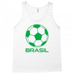 brasil sport soccer ball fun Tank Top   Artistshot