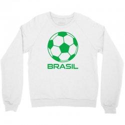 brasil sport soccer ball fun Crewneck Sweatshirt   Artistshot