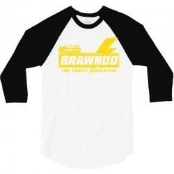 brawndo 3/4 Sleeve Shirt | Artistshot