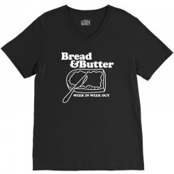 bread and butter week in week out apron V-Neck Tee | Artistshot