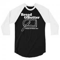 bread and butter week in week out apron 3/4 Sleeve Shirt | Artistshot