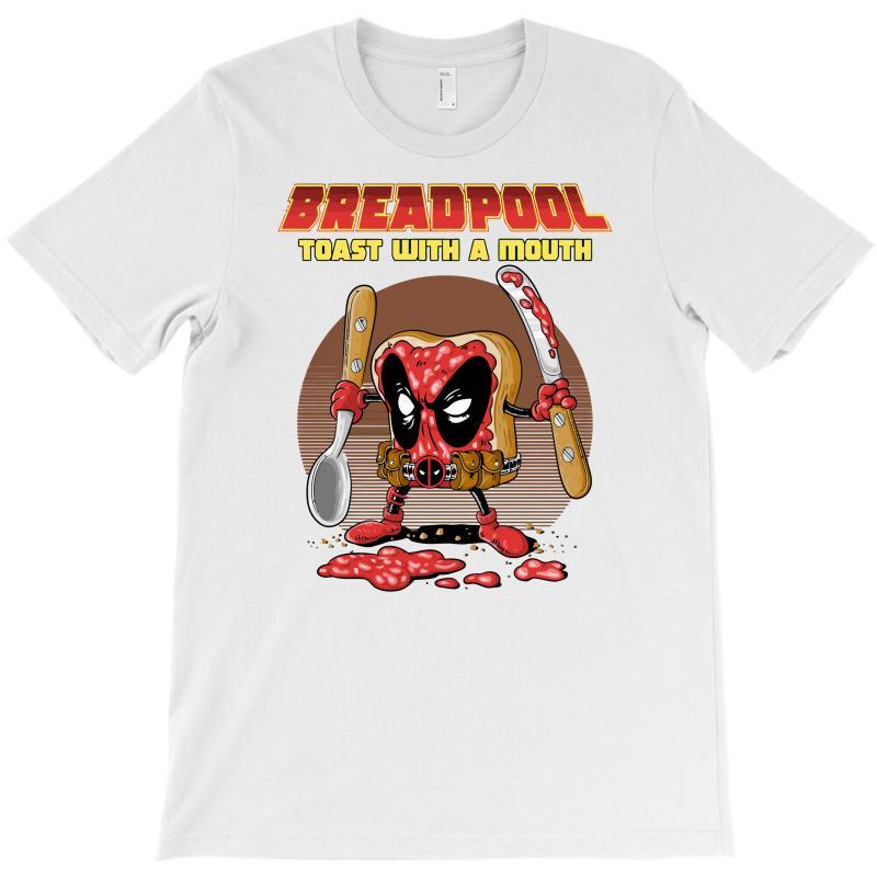 Breadpool T-shirt   Artistshot