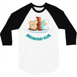 breakfast club 3/4 Sleeve Shirt | Artistshot
