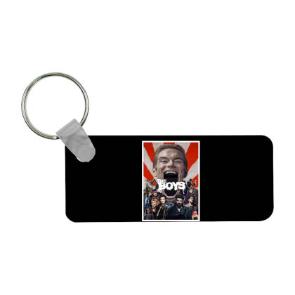 The Boys Series Frp Rectangle Keychain Designed By Hanni Veronica
