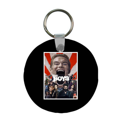 The Boys Series Frp Round Keychain Designed By Hanni Veronica