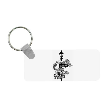 Owl Horror Frp Rectangle Keychain Designed By Delicous