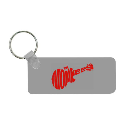 Guitar Logo The Monkees Frp Rectangle Keychain Designed By Patric9909