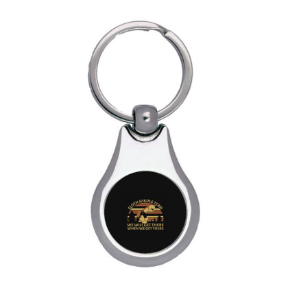 Sloth Hiking Team We Will Get Silver Pear Keychain Designed By Yad1_