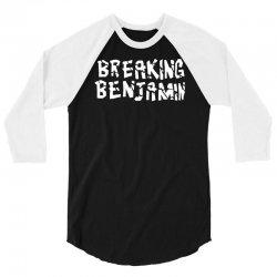 breaking benjamin new 3/4 Sleeve Shirt | Artistshot