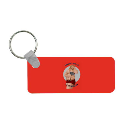 Captain Frp Rectangle Keychain Designed By Shannen Doherty