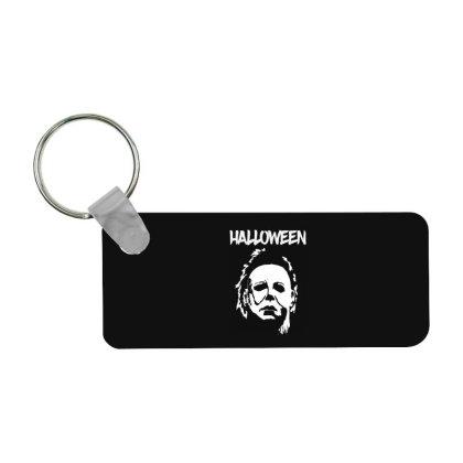 Michael Myers Halloween Frp Rectangle Keychain Designed By Loye771290