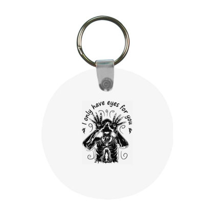 Pan's Movies Frp Round Keychain Designed By Delicous